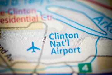 clinton little rock national airport
